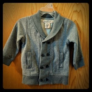 Gray Preppy toddler sweater